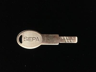 セパの合鍵