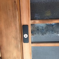 引き戸 鍵の新規取付