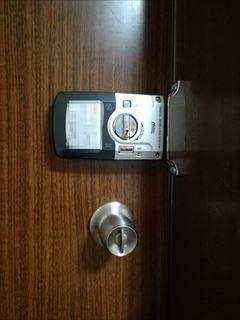 MILRE製  デジタル錠 鍵修理